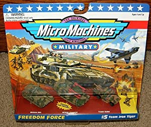 Micro Machines Team Iron Eagle #5 Military Collection