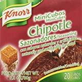 Knorr Chipotle 20 Mini Cubes, 2.8 Oz. (Pack of 4)