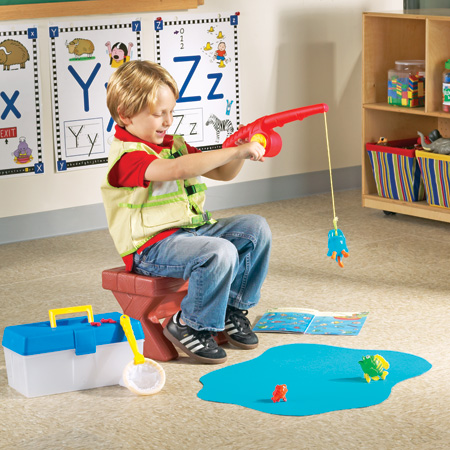 learning resources pretend play fishing set