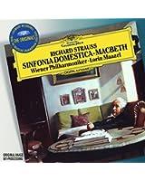 R. Strauss : Sinfonia Domestica, Op. 53 - Macbeth, Op. 23