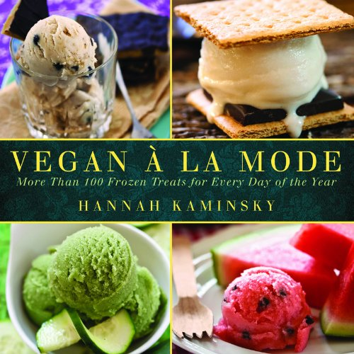 Vegan A La Mode by Hannah Kaminsky cover
