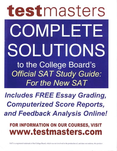 Full Expert Review: The Official SAT Study Guide