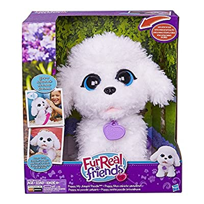 FurReal Friends Playful Pets Poppy, My Jumpin' Poodle by Hasbro - Import