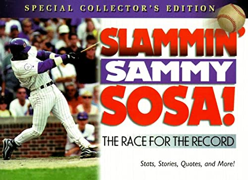 Slammin Sammy Sosa: The Race for the Record, BOOKS HONOR, HONOR BOOKS