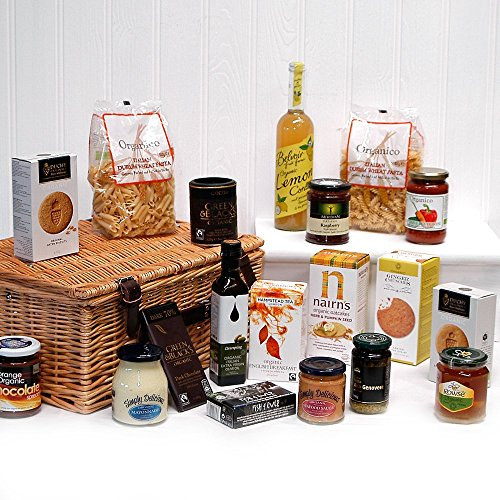 18th Wedding Anniversary Gift Ideas For Her: Duchy Originals John Lewis Organic Fairtrade Hampers
