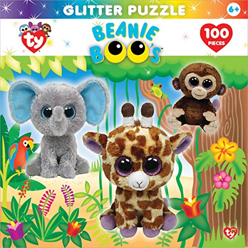 Masterpieces Beanie Boo Glitter Jungle Club Puzzle (100-Piece)