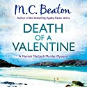 Death of a Valentine: Hamish Macbeth, Book 25 Audiobook by M. C. Beaton Narrated by David Monteath