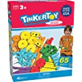 TINKERTOY Essentials Value Set (65 Pieces)