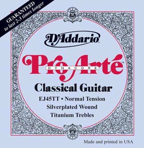 D'Addario EJ45TT ProArte DynaCore Classical Guitar