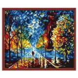 HOT Sale!DIY Hand-Painted Art Oil Painting, Huge Canvas Wall Room Decor(No Frame)