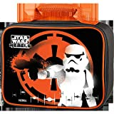 Star Wars Storm Trooper Soft Lunch Kit - Black with Orange Trim