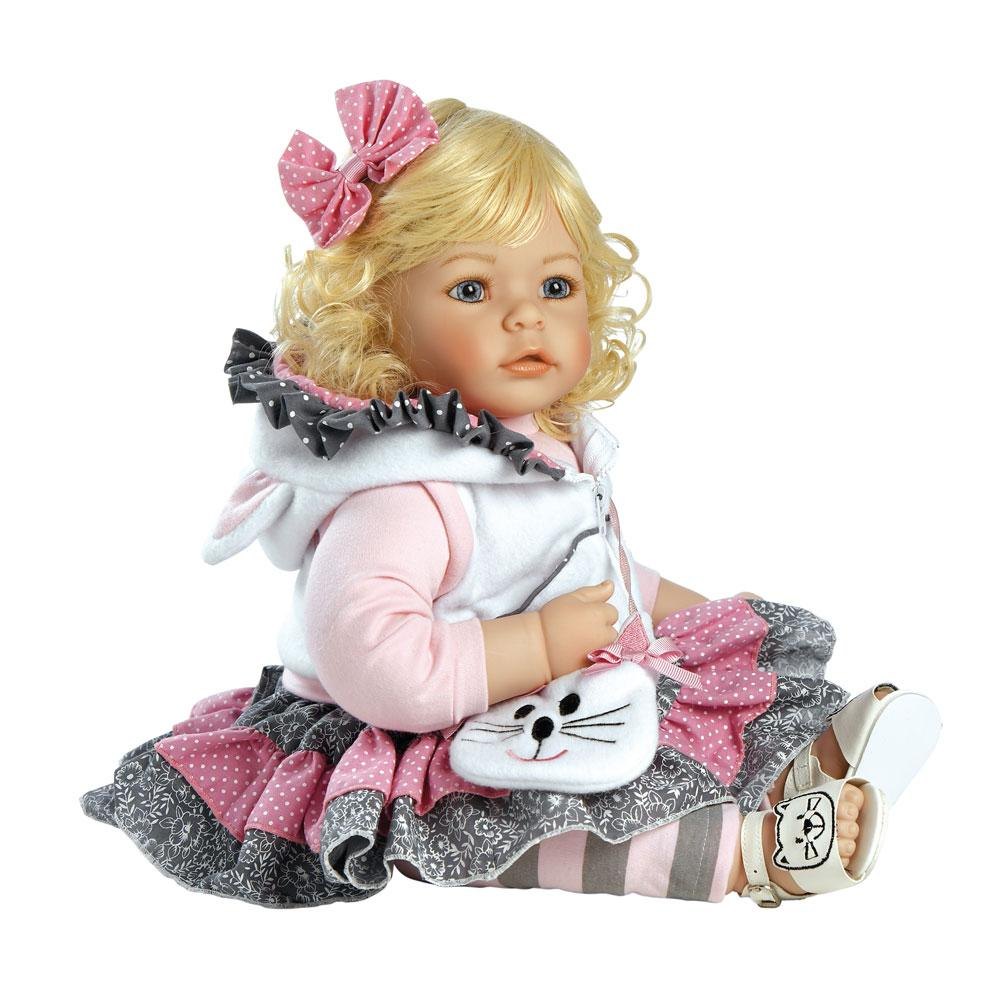 Amazon Com Adora Baby Doll 20 Inch Quot The Cat S Meow