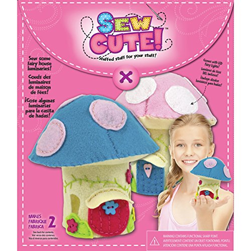 Colorbok Sew Cute LED Fairy House Sewing Kit - 1