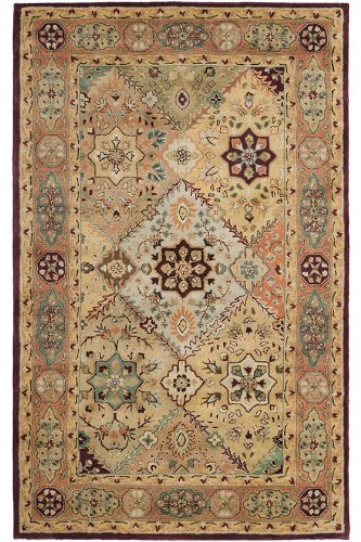 Chapel Area Rug, 5-footx8-foot, RED RUST