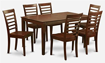 7-Pc Rectangular Dining Set