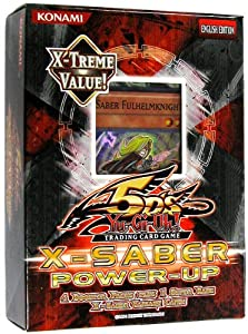 YuGiOh 5Ds XSaber PowerUp Special Pack Includes Promo XXSaber Fulhelmknight Card
