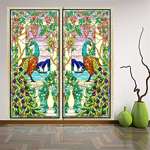 ostepdecor-custom-peacock-translucent-non-adhesive-frosted-stained-glass-window-films-18-w-x-24-h-on