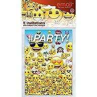 Unique Emoji Invitations (8 Count)