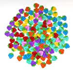 Pack of 50PCS Strawberry Buttons- Mix...