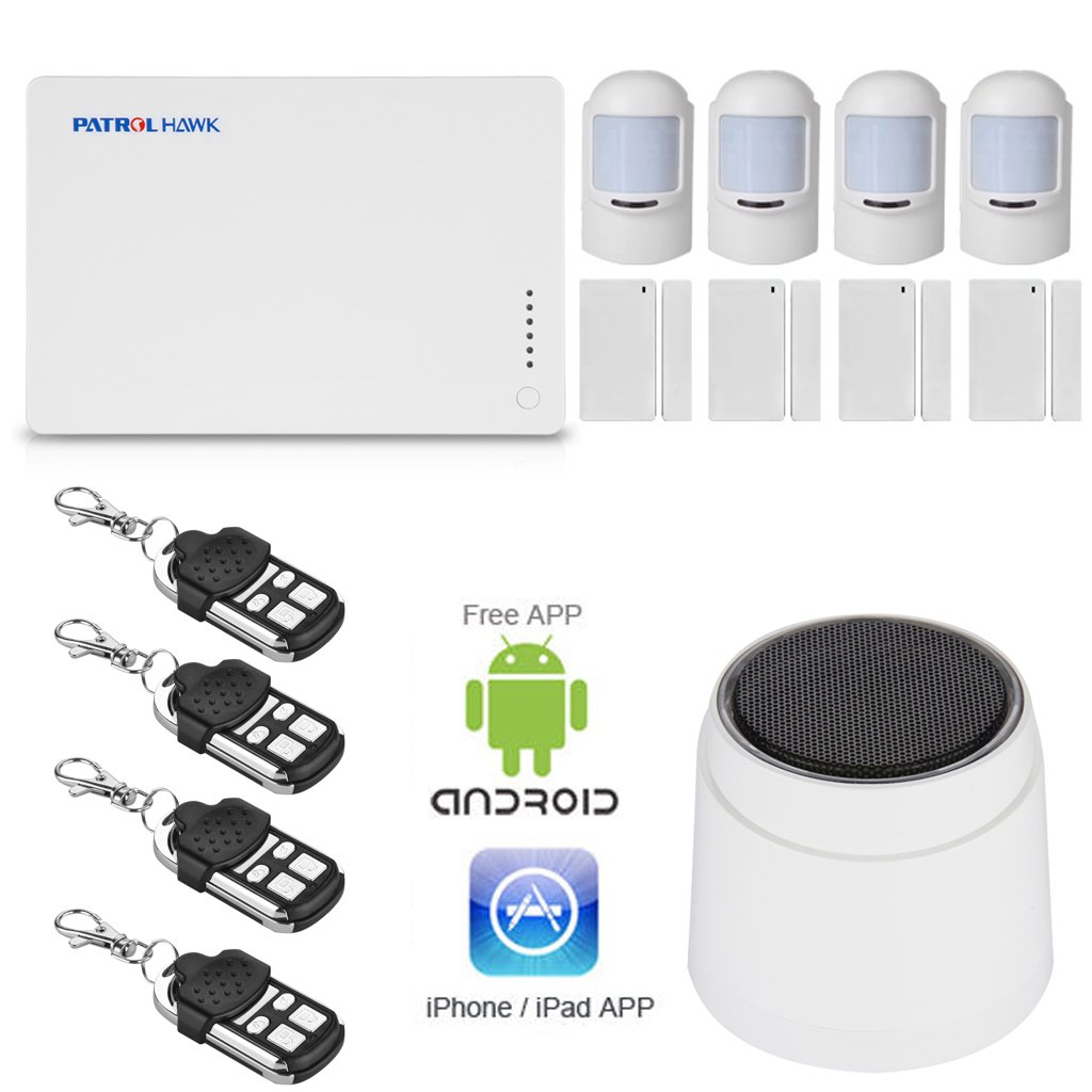 <p>Alarma para el hogar sistema Patrol, con conexi&oacute;n GSM</p>