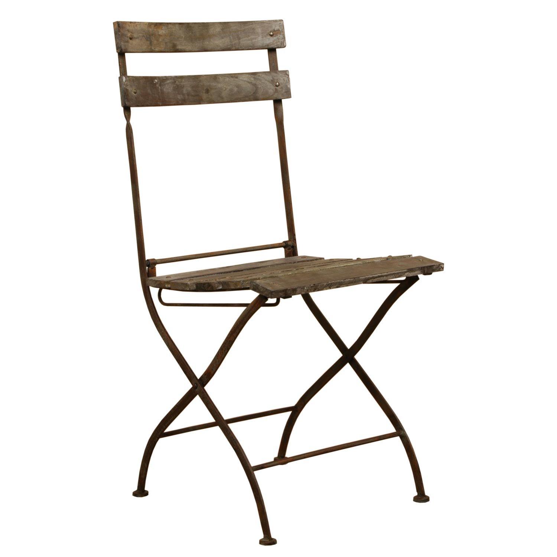 40381 Stuhl Gartenstuhl Braun ca. 42 x 45 x 95 cm bestellen