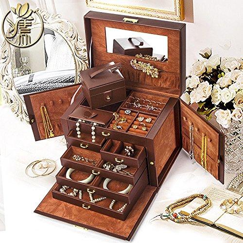 the-muses-magic-box-portagioie-guarda-organizzatore-di-storage-w-bloccare-specchio-e-mini-custodia-d