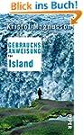 Gebrauchsanweisung f�r Island