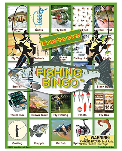 Freshwater Fishing Bingo - 1