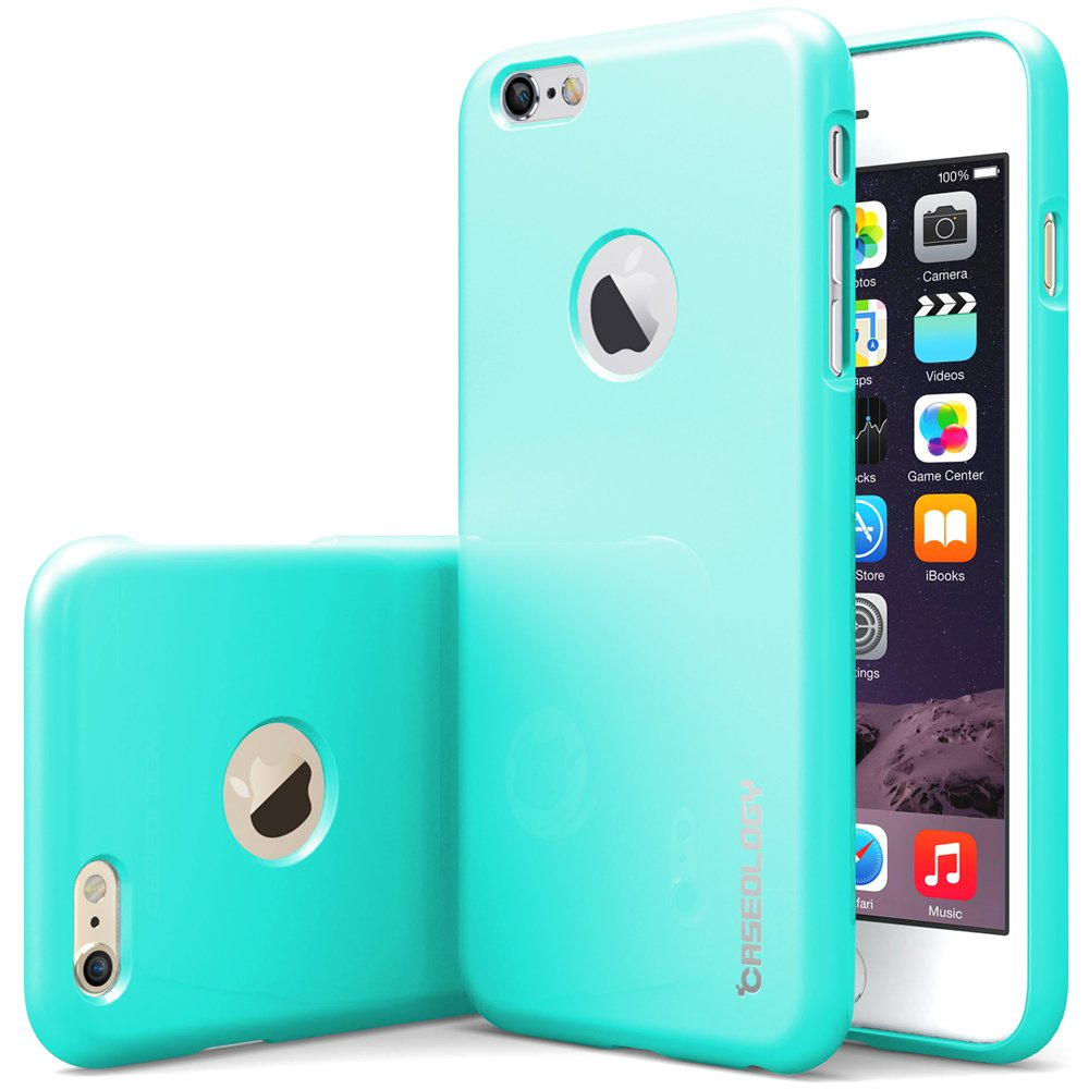 iPhone 6 Plus Case, Caseology (Drop Protection) Apple iPhone 6 (5.5'' inch) Plus Case (Turquoise Mint) Slim Fit Skin Cover (Shock Absorbent ..