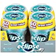 Eclipse Big E Polar Ice Gum, 60-Count Pieces (Pack of 4)