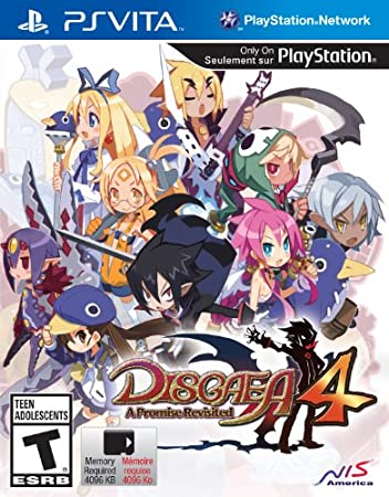Disgaea 4: A Promise Revisited - PlayStation Vita