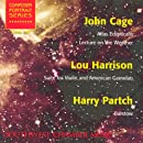 Southwest Chamber Music Composer Portrait Series: John Cage (Atlas Eclipticalis), Lou Harrison (Suite for Gamelan) , and Harry Partch (Barstow) [2 CDs]
