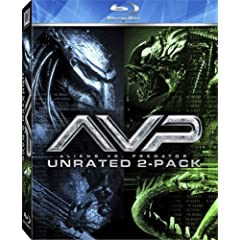 AVP - Alien vs. Predator / Aliens vs. Predator - Requiem (Unrated Two-Pack) [Blu-ray]: Sanaa Lathan, Lance Henriksen, Raoul Bova, Ewen Bremner, Reiko Aylesworth, Steven Pasquale, Shareeka Epps, Colin