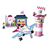 Sluban Pink Dream Series Blocks Plane Bricks Toy – Fantasy Aviation (Tamaño: Fantasy Aviation)