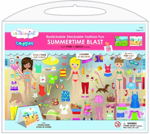 My Studio Girl Taggles Play Sets - Summertime Blast