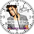 "Justin Bieber Wall Clock 10"" Will Be Nice Gift and Room Wall Decor W456"