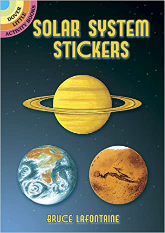 Solar System Stickers (Dover Little Activity Books Stickers)
