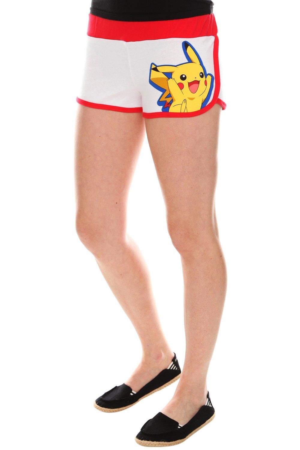 Pokémon Red & White Booty Shorts