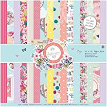 docrafts Papermania Paper Pack 12 x 12quot 3 Bellissima