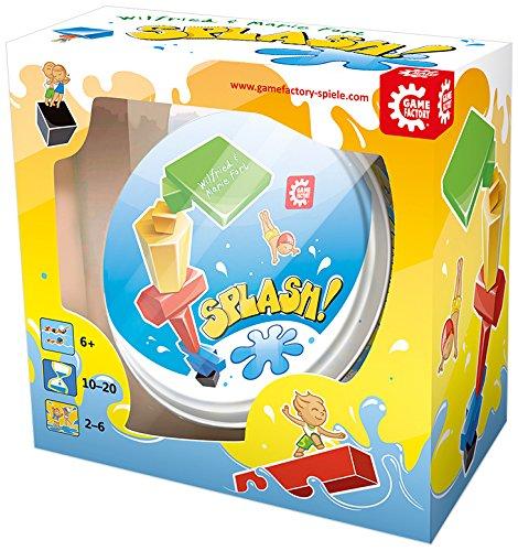 Game Factory 76156 - Splash!, Gioco di abilità, per 2-6 giocatori