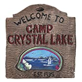 Camp Crystal Lake Sign キャンプクリスタルレイクサイン♪ハロウィン♪サイズ:
