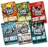 Robert Muchamore Henderson's Boys Collection, 6 Books, RRP £41.95 (The Escape; Eagle Day; Secret Army; Grey Wolves; The Prisoner; One Shot)