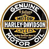 Harley-Davidson Genuine Motor Oil Tin Sign