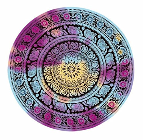 Table Cloth Buedvo Round Beach Pool Home Shower Towel Blanket Yoga Mat