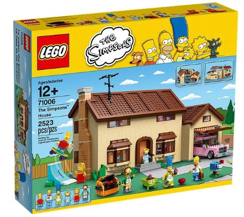 LEGO Exclusive la casa Simpson Set (71006)