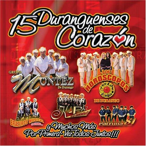 artist - 15 Duranguenses de Corazon - Zortam Music