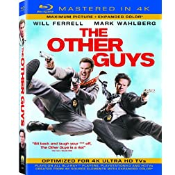 The Other Guys  (Mastered in 4K) (Single-Disc Blu-ray + Ultra Violet Digital Copy)