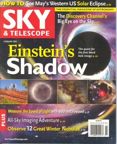 Sky & Telescope Magazine February 2012 (Volume 123 # 2)