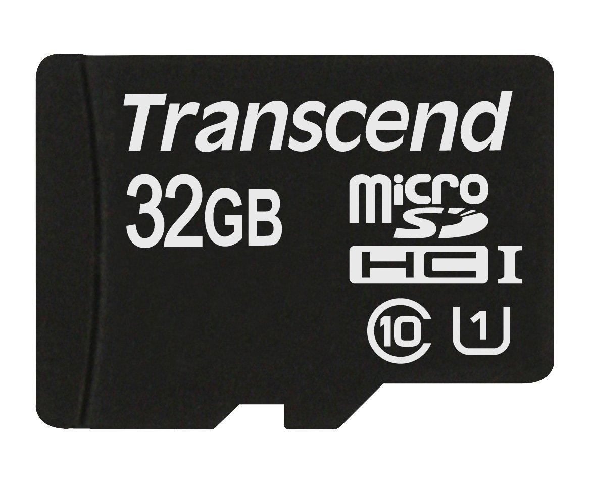 Amazon. Карта памяти Transcend microSDHC 32GB Class 10 UHS-I  за 19,90 Евро