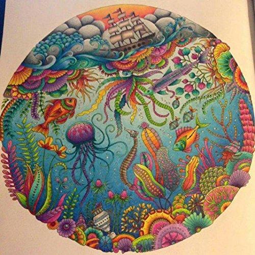 40 Art Gel Pens set for Adult Coloring Books In Storage Case ...